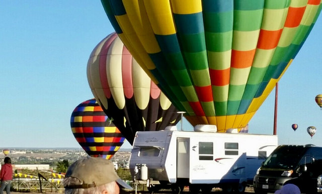 albuquerque international balloon fiesta, recreational vehicle, fiesta rv park, new mexico