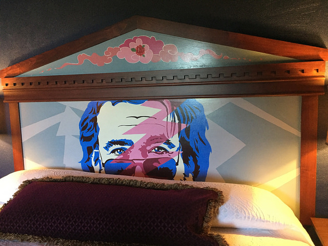 it's all just a dream, jerry garcia, mcmenamins grand lodge, hotel room, grateful dead, forest grove, oregon