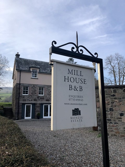 mill house b&b, monzie estate, scottish highland luxury at monzie estate