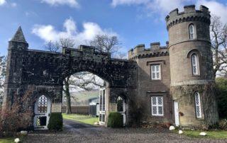 scottish castle, historic monzie estate, scottish highland castle
