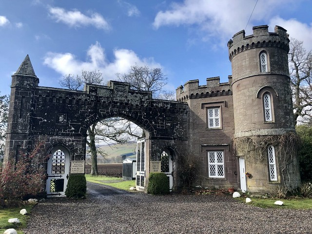 scottish castle, historic monzie estate, scottish highland castle