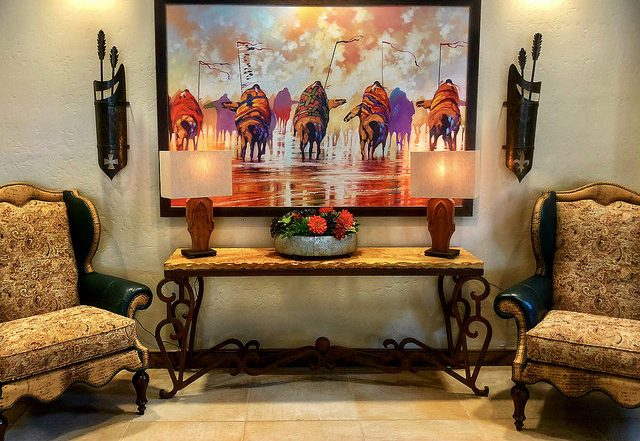 murieta inn and spa, native american artwork, equestrian hotel, rancho murieta hotel