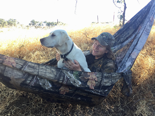 nancy brown, grand trunk mossy oak break-up hammock, under armour
