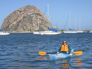 """Nancy Brown"" ""Morro Bay"" kayak"