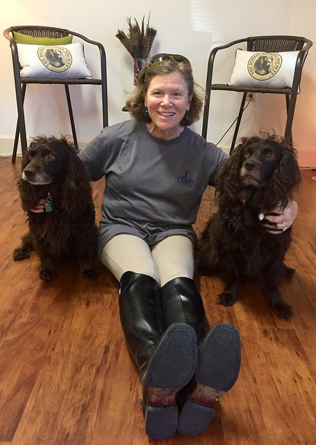 nancy d brown, boykin spaniels, south carolina sate dog, camden sc