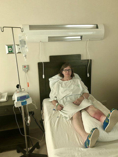 travel writer nancy d brown, cancun hospital, why you need travel insurance if you get sick in mexico