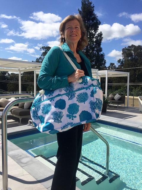 nancy d brown, nancy brown, fivesse beach bag, fivesse e
