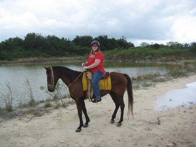 nancy d brown, horseback riding, holkan kingdom, best things to see and do in cancun mexico