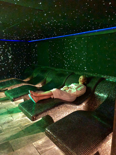 nancy d brown, celestial relaxation room, wellness suite, thermae bath spa, bath england day spa