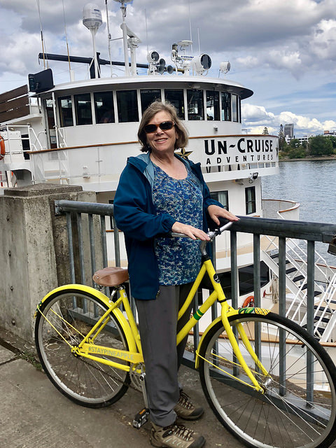 hotel rose review, nancy d brown, uncruise rivers of adventure, willamette river, portland oregon