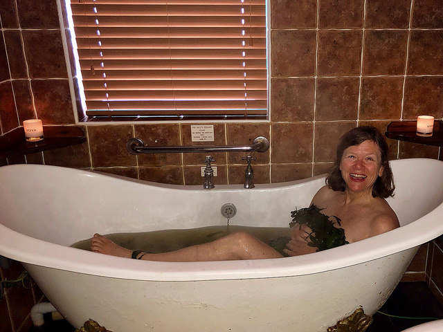 nancy d brown, voya seaweed baths, strandhill, county sligo, ireland