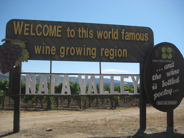 welcome to napa valley, world famous wine growing region, best things to see and do in calistoga california