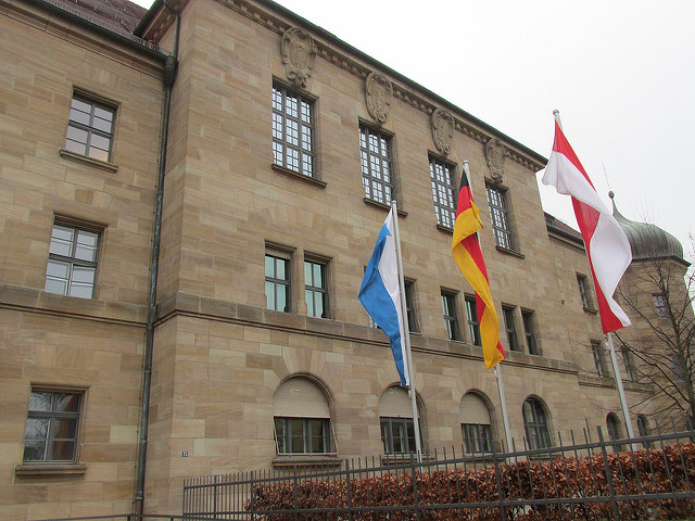 nuremberg trail, palace of justice, nuremberg, germany