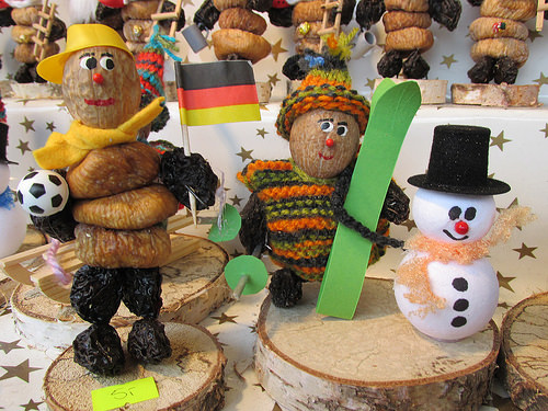 Plum men, Nuremberg Christmas Market. Photo © 2014 Nancy D. Brown