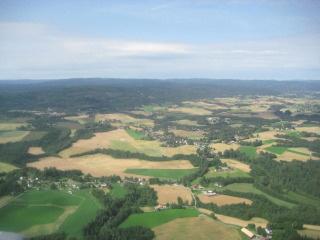 Oslo, Norway, aerial view, Nancy D. Brown, travel