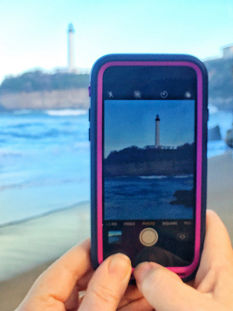 otterbox pursuit case, summer travel gear review, otterbox iphone case, lighthouse