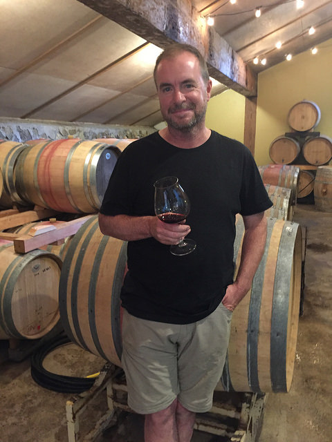 eric hamacher, winemaker eric hamacher, hamacher wines, beaverton, oregon, pinot noir, wine tasting