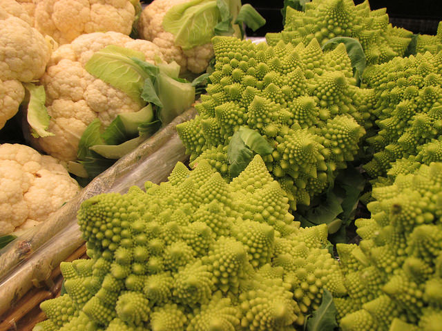 cauliflower, oxbow public market, napa, california
