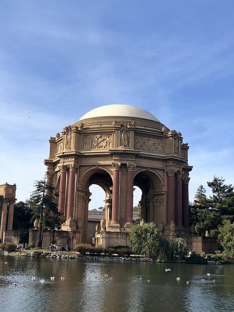 palace of fine arts, best things to do in san francisco