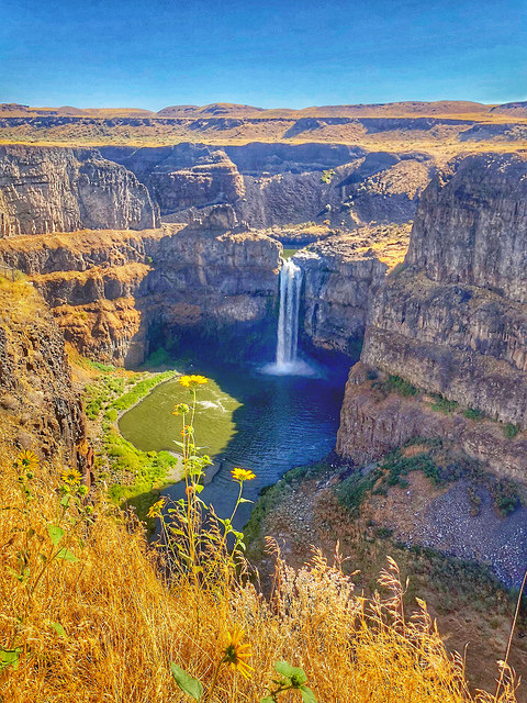 palouse falls state park, uncruise rivers of adventure, snake river cruise, eastern washington
