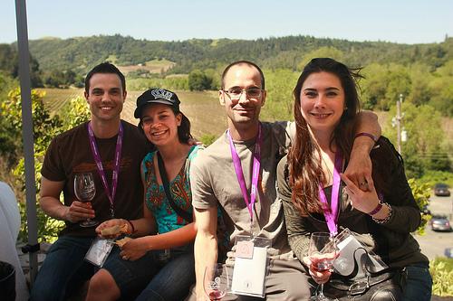 """""""Passport Dry Creek"""" wine tasting, Healdsburg, California"""