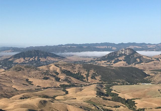 phantom river, san luis obispo wine country, slo wine country, central california, landscape, coastal fog