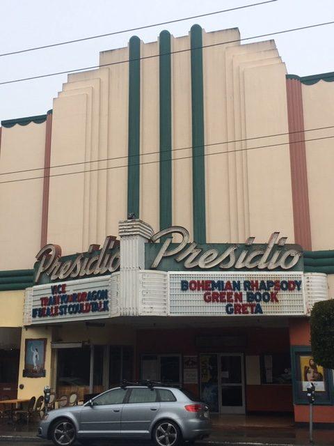 Presidio, movie theatre, Art Deco, Marina, San Francisco