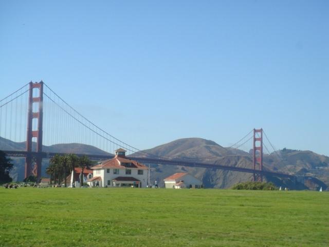 golden gate bridge, presidio, san francisco, california