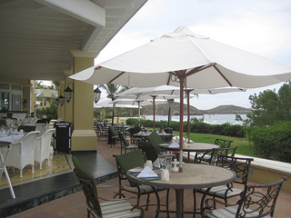 PB Emerald Bay patio dining