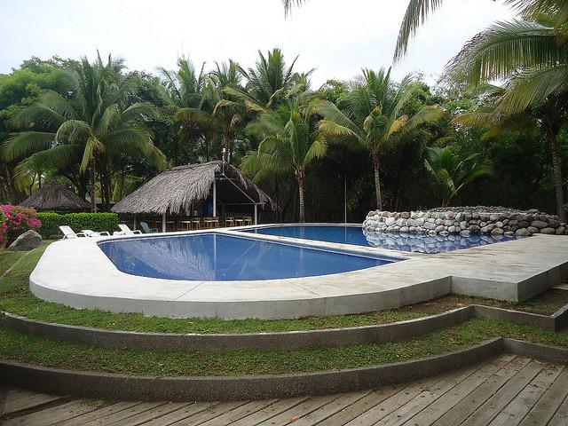 Puerto Barillas, pool, El Salvador