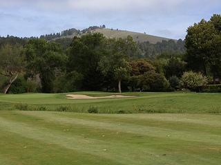 Quail Lodge golf green