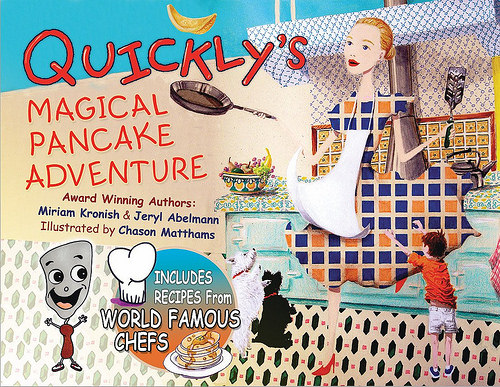 book review, Quickly Magical Pancake Adventure