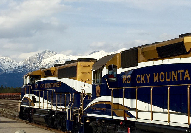 rocky mountaineer, jasper national park, train, canada, north america, jasper, alberta