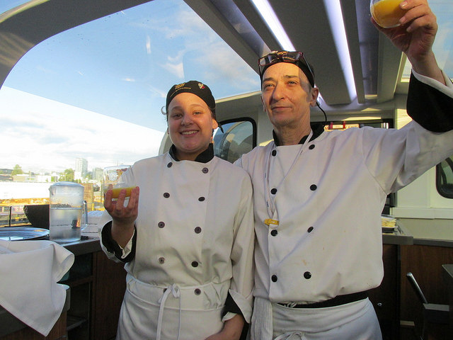 chef, rocky mountaineer, train travel