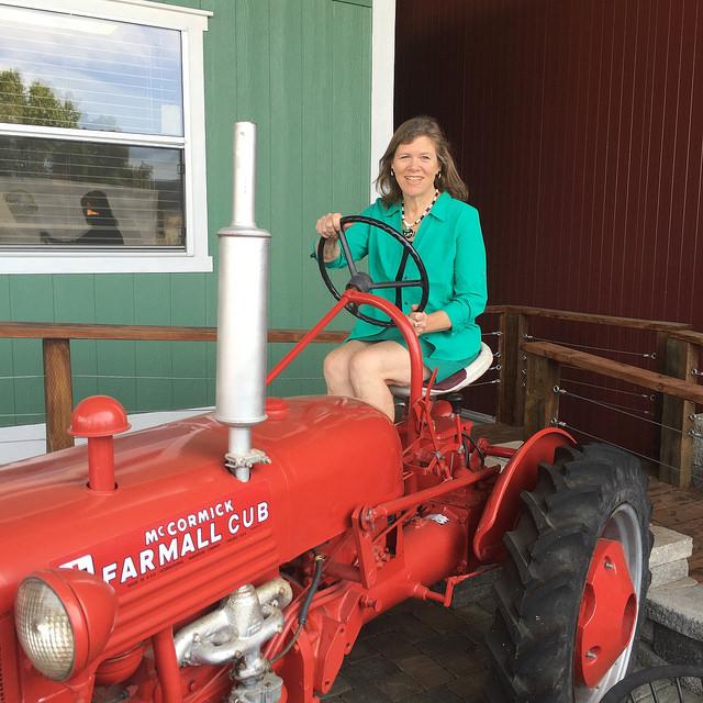 Nancy Brown, Trattore Farms, Healdsburg