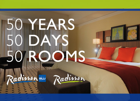 Radisson Celebrates 50 Years – Hotel Giveaway