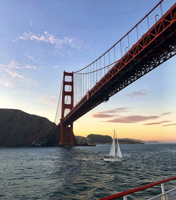 san francisco bay cruise, california sunset cruise, san francisco bay cruises, sailboat