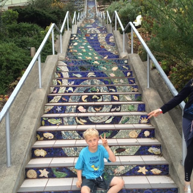 Staircases abound in San Francisco and remain the best way to explore the city