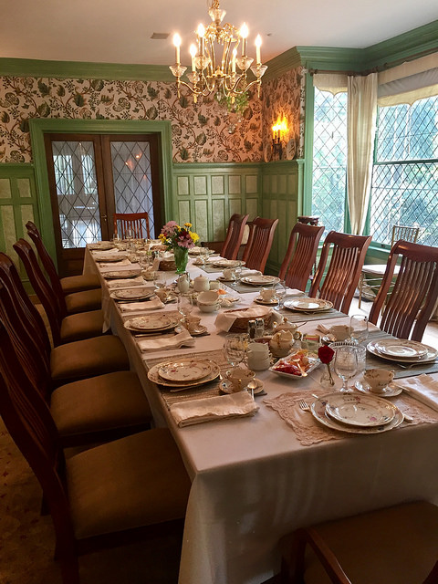 sunday brunch, bed and breakfast, rose hill estate, aiken, sc
