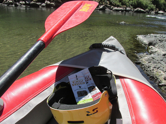 simply snackin, protein snack, row adventures, rogue river, southern oregon