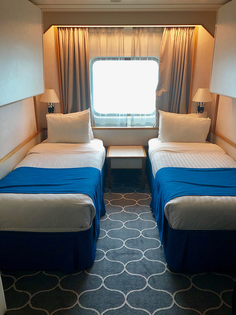 royal caribbean ocean view stateroom, empress of the seas cruise ship, cruise to cuba with royal caribbean cruises