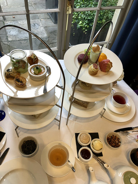 royal crescent hotel afternoon tea, 9 things to do in bath england, dower house afternoon tea