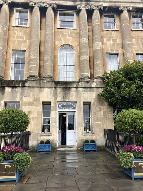 royal crescent hotel & spa five star luxury in bath, bath hotel review, royal crescent hotel bath, bath boutique hotel