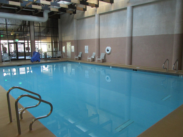 indoor swimming pool, rubys inn, bryce canyon, utah