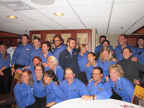 """Safari Endeavour"" crew"