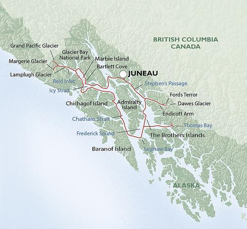 """""""Un-Cruise Adventures"""" Alaska"""
