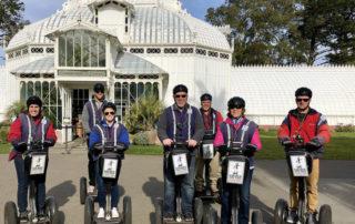 conservatory of flowers, golden gate park segway tour, san francisco, california, nancy d brown