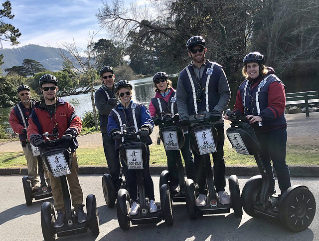 stowe lake, golden gate park segway tour, san francisco electric tour company