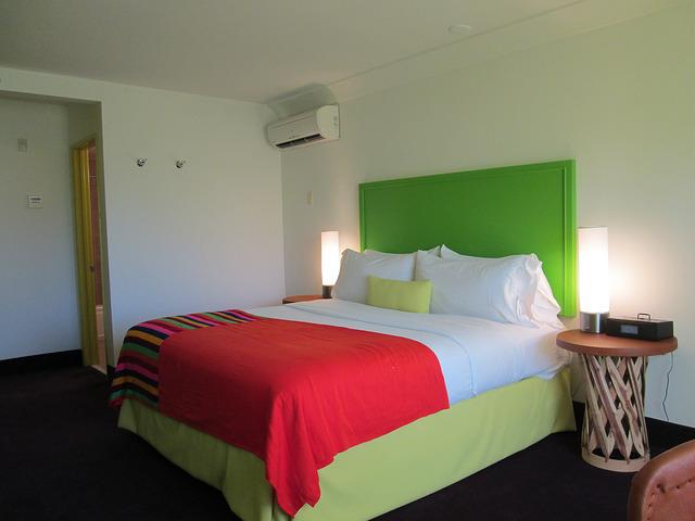 Marvelous hotel room saguaro palm springs hotel california king bed
