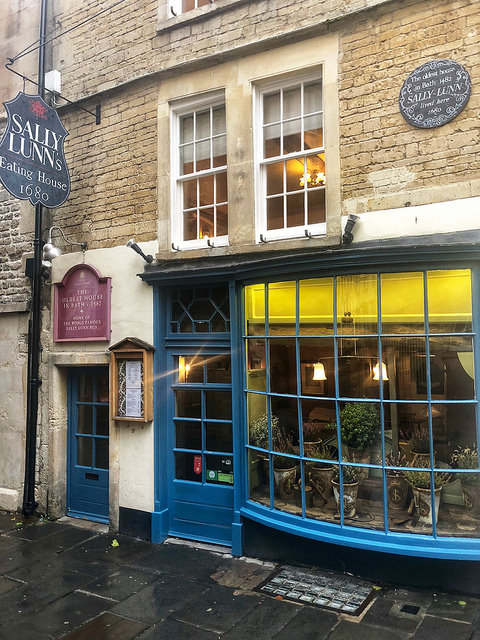 sally lunn museum, sally lunn bath bunn, 9 things to do in bath